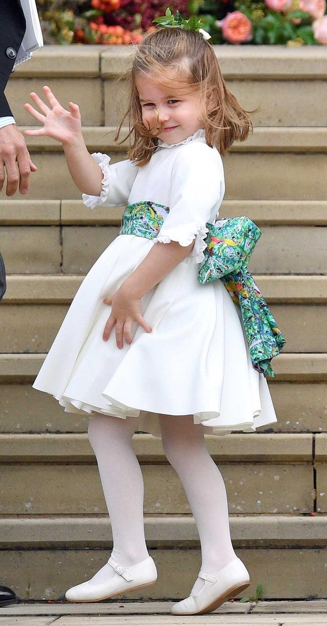 ブライズメイドを務めたシャーロット王女 (C) Getty Images