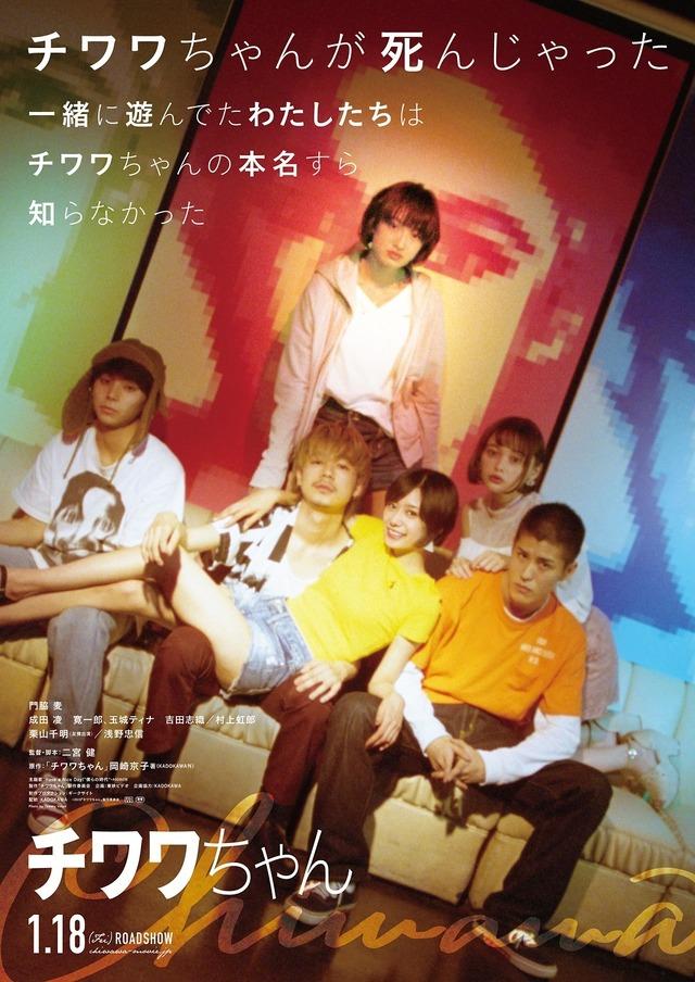 『チワワちゃん』ティザーポスター(c)2019『チワワちゃん』製作委員会