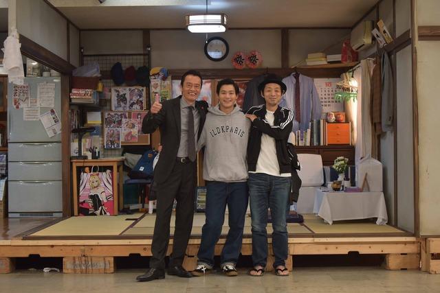 「遠藤憲一と宮藤官九郎の勉強させていただきます」4話クランクアップ