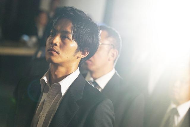 松坂桃李/『孤狼の血』(C)2018「孤狼の血」製作委員会