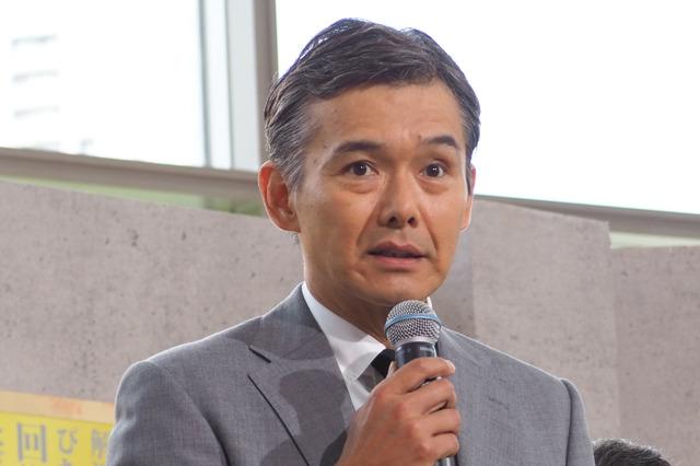 渡部篤郎「ハゲタカ」制作発表記者会見