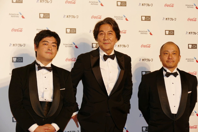 第31回東京国際映画祭 Japan Now『映画俳優 役所広司』役所広司、沖田修一監督、白石監督