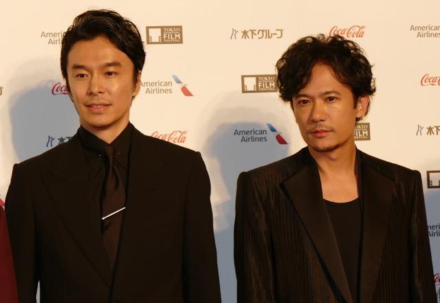 第31回東京国際映画祭 コンペティション部門『半世界』稲垣吾郎、長谷川博己