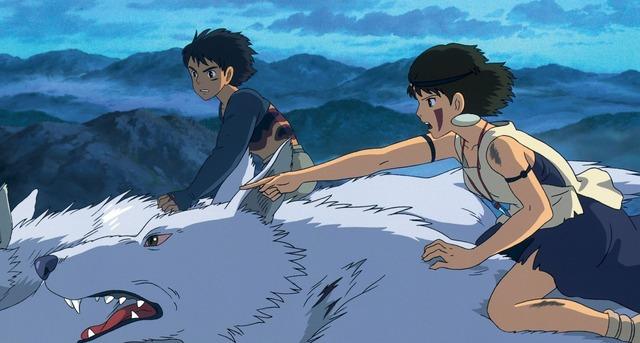 『もののけ姫』(C)1997 Studio Ghibli・ND