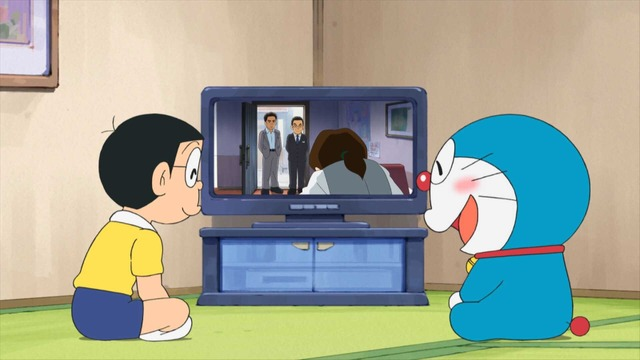 「ドラえもん」「相棒」コラボ(C)藤子プロ・小学館・テレビ朝日・シンエイ・ADK