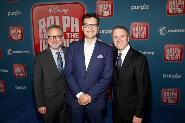 『シュガー・ラッシュ:オンライン』USプレミア (C)2018 Disney. All Rights Reserved.