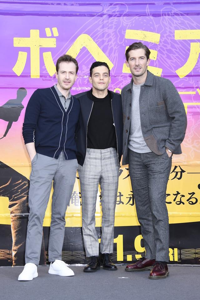 『ボヘミアン・ラプソディ』来日記者会見 (C) 2018 Twentieth Century Fox