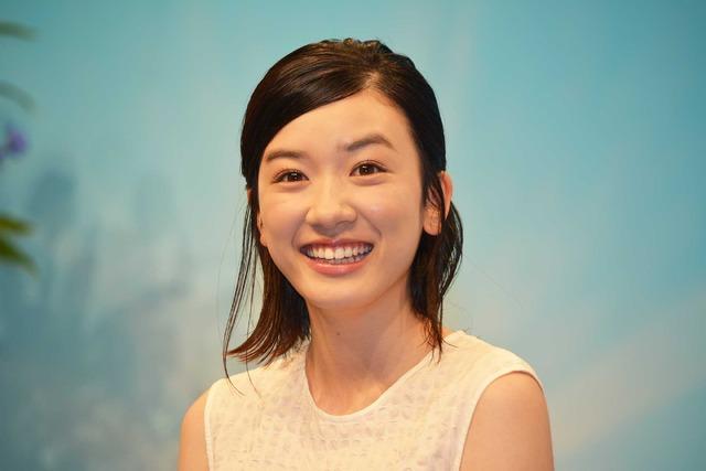 永野芽郁/連続テレビ小説「半分、青い。」出演者発表会見