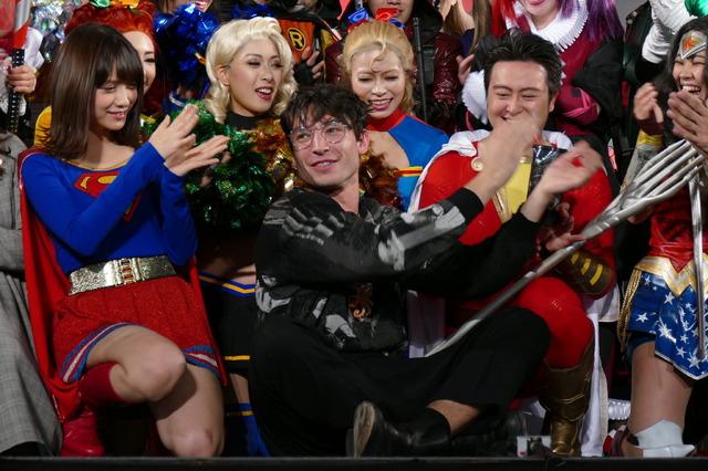 エズラ・ミラー/東京コミコン2018「DC COSPLAYERS LEAGUE 2018」