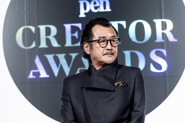 吉田鋼太郎「Pen クリエイター・アワード 2018」授賞式