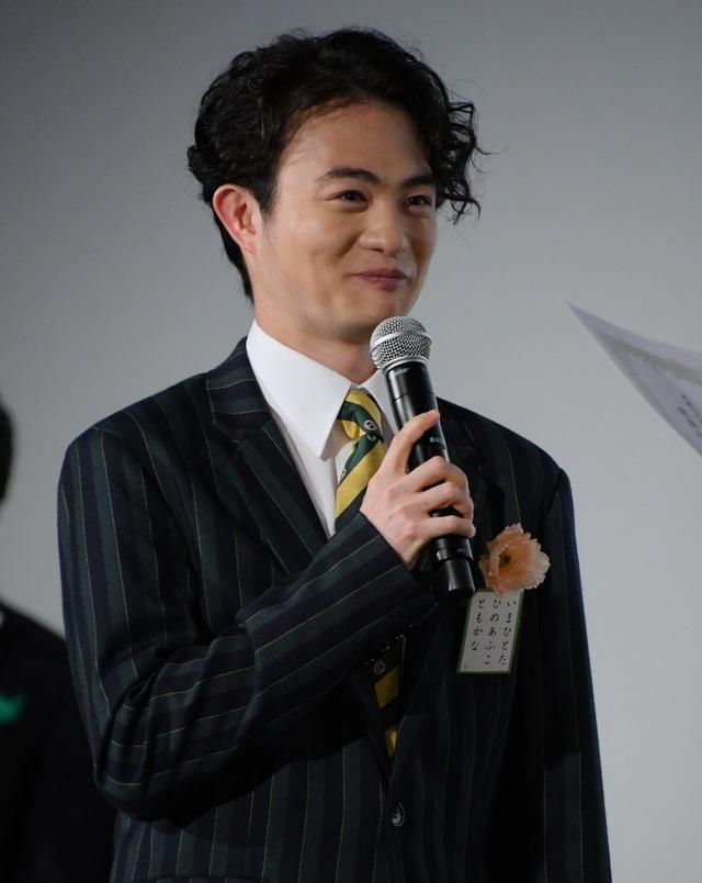 森永悠希/映画『ちはやふる-結び-』公開初日舞台挨拶