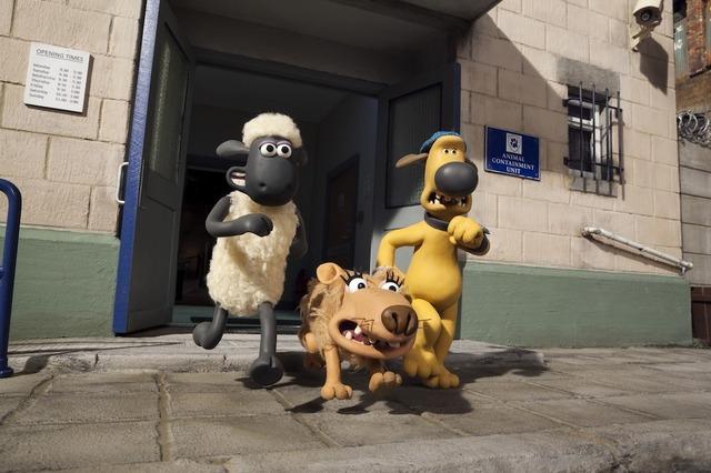 『映画 ひつじのショーン~バック・トゥ・ザ・ホーム~』(C)2014 Aardman Animations Limited and Studiocanal S.A.