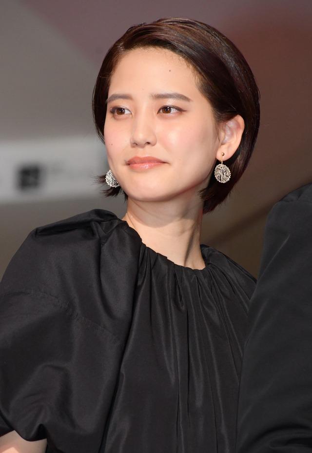 山崎紘菜/映画『50回目のファーストキス』レッドカーペットイベント