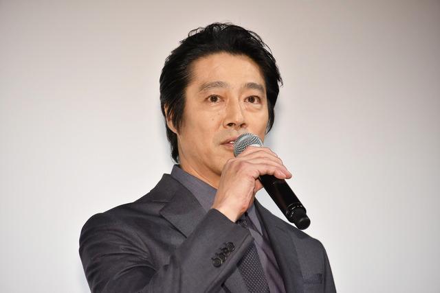 堤真一/WOWOW「連続ドラマW 名刺ゲーム」の第1話完成披露試写会