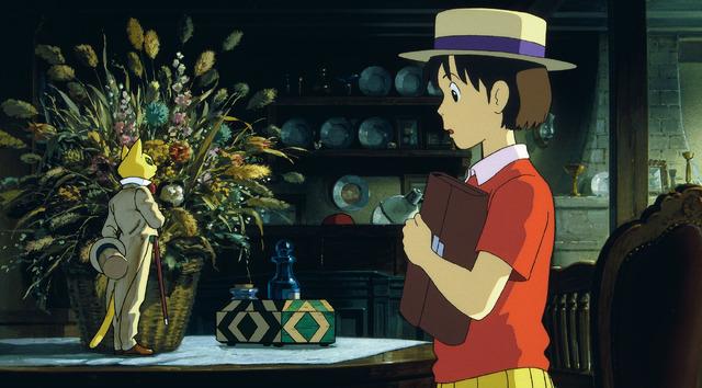 『耳をすませば』 (C)1995 柊あおい/集英社・Studio Ghibli・NH