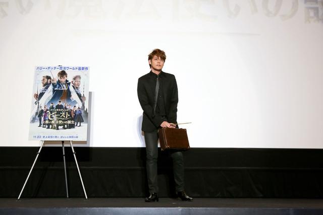 『ファンタスティック・ビーストと黒い魔法使いの誕生』大阪応援上映(C)2018 Warner Bros. Ent.  All Rights Reserved.Harry Potter and Fantastic Beasts Publishing Rights (C)J.K.R.
