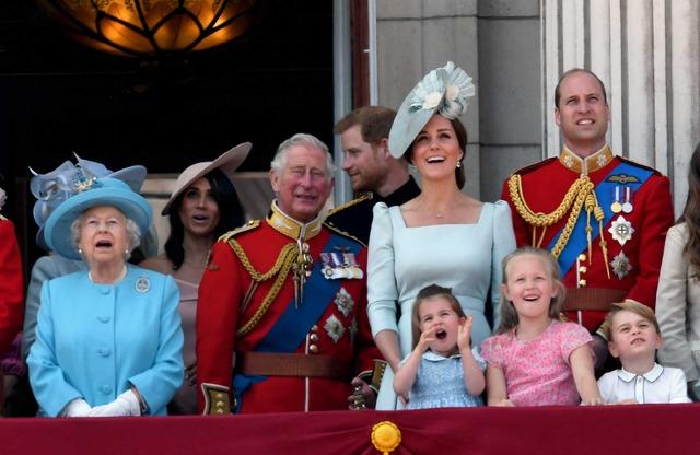 エリザベス女王の誕生日パレードにて (C)Getty Images