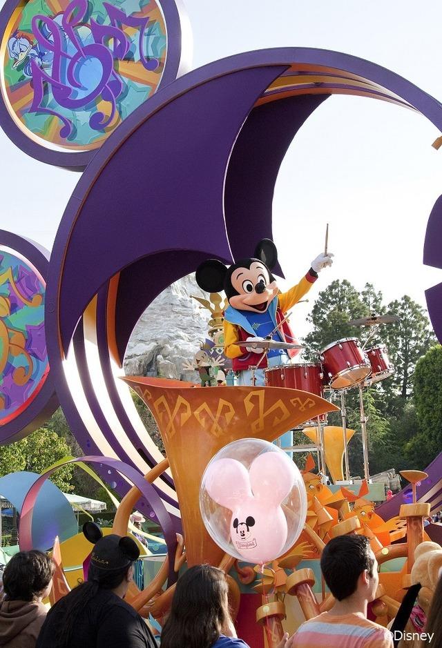 「ミッキーのサウンドセーショナル・パレード」