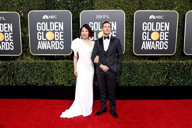 サンドラ・オー&アンディ・サンバーグ (C) Getty Images