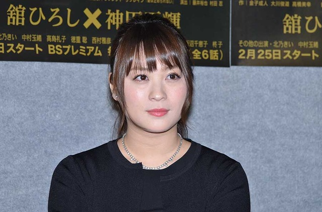 北乃きい/NHKBSプレミアム「クロスロード」試写会