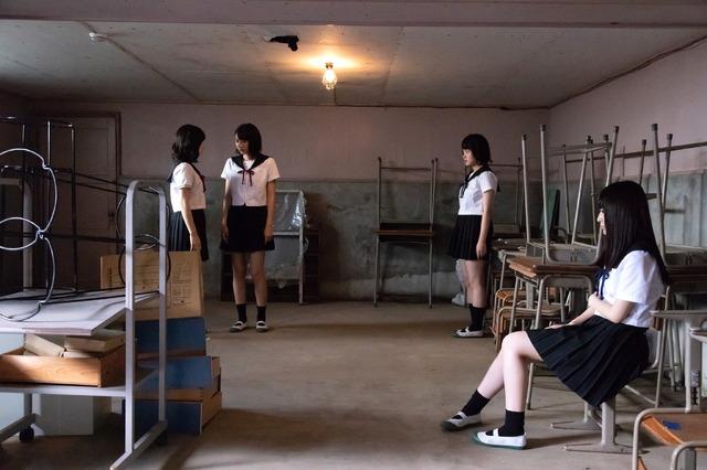 「がっこう××× ~もうひとつのがっこうぐらし!~」 (C)NBCUniversal Entertainment Japan
