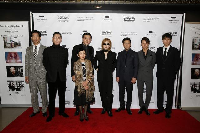 「ショートショート フィルムフェスティバル & アジア in ハリウッド」レッドカーペット