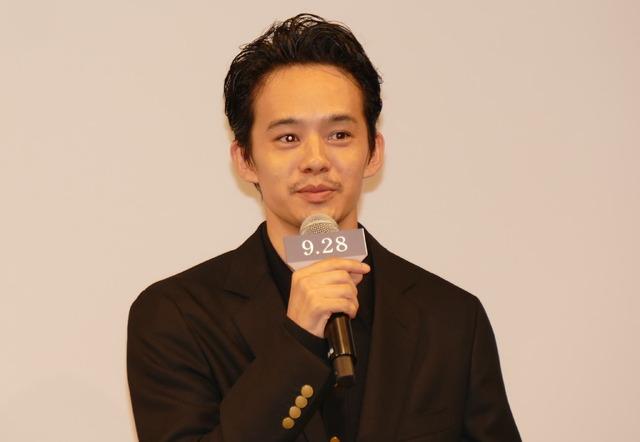 池松壮亮/『散り椿』完成報告記者会見