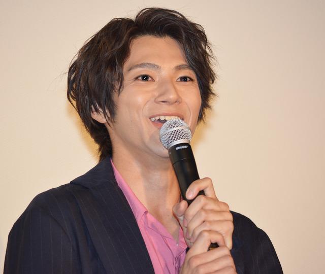 山田裕貴/『あゝ、荒野』完成披露上映会舞台挨拶