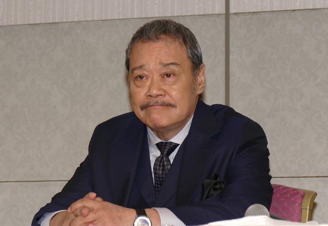 西田敏行/第42回日本アカデミー賞優秀賞発表記者会見