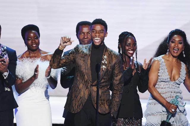 『ブラックパンサー』全米映画俳優組合賞授賞式 (C) Getty Images