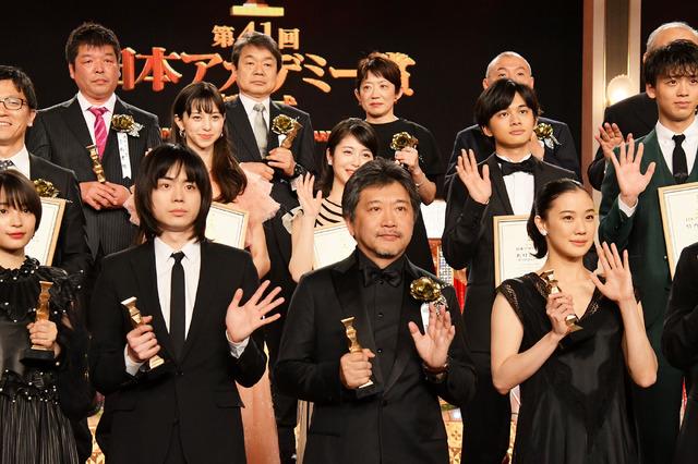 受賞者/「第41回 日本アカデミー賞」フォトセッション