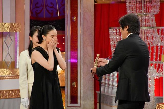最優秀主演女優賞を受賞した蒼井優/第41回日本アカデミー賞