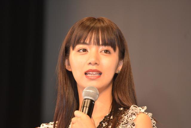 池田エライザ土屋太鳳/『トリガール!』完成披露イベント/『トリガール!』完成披露イベント