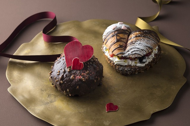 チョコクランベリーチョコ(380円:写真左)ベリーベリーショコラ(400円:写真右)