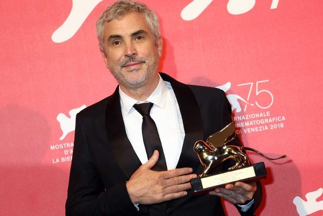 第75回ヴェネチア映画祭で金獅子賞を獲得したアルフォンソ・キュアロン (C) Getty Images