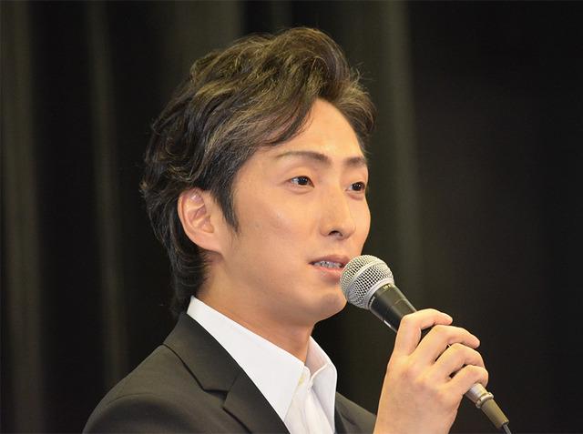 中村七之助/舞台「ETERNAL CHIKAMATSU」製作発表会見