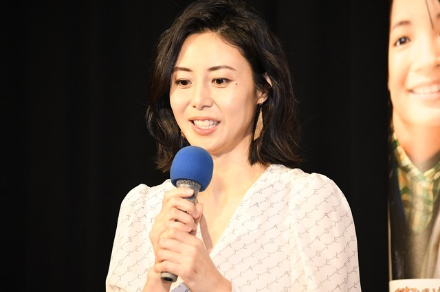 連続テレビ小説「なつぞら」第1週目試写会/松嶋菜々子