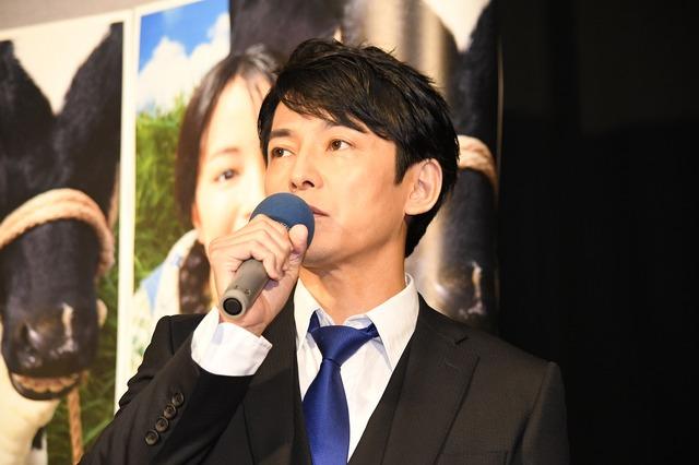 連続テレビ小説「なつぞら」第1週目試写会/藤木直人