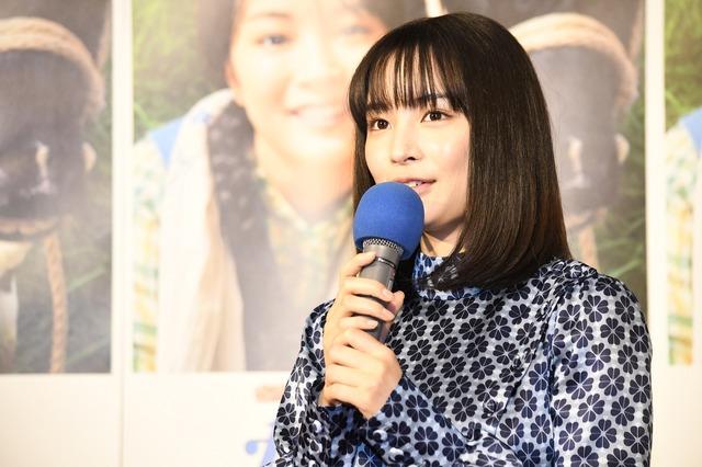 連続テレビ小説「なつぞら」第1週目試写会/広瀬すず
