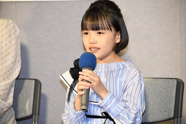 連続テレビ小説「なつぞら」第1週目試写会/粟野咲莉