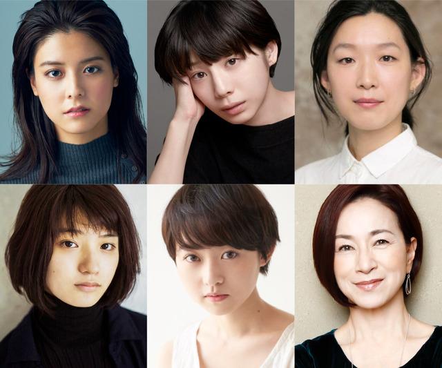 6人の女優たち (C)2019「潤一」製作委員会