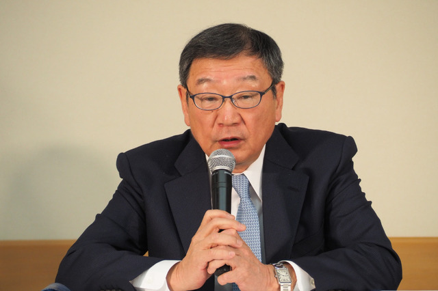 多田憲之氏/『麻雀放浪記2020』公開に関する記者会見