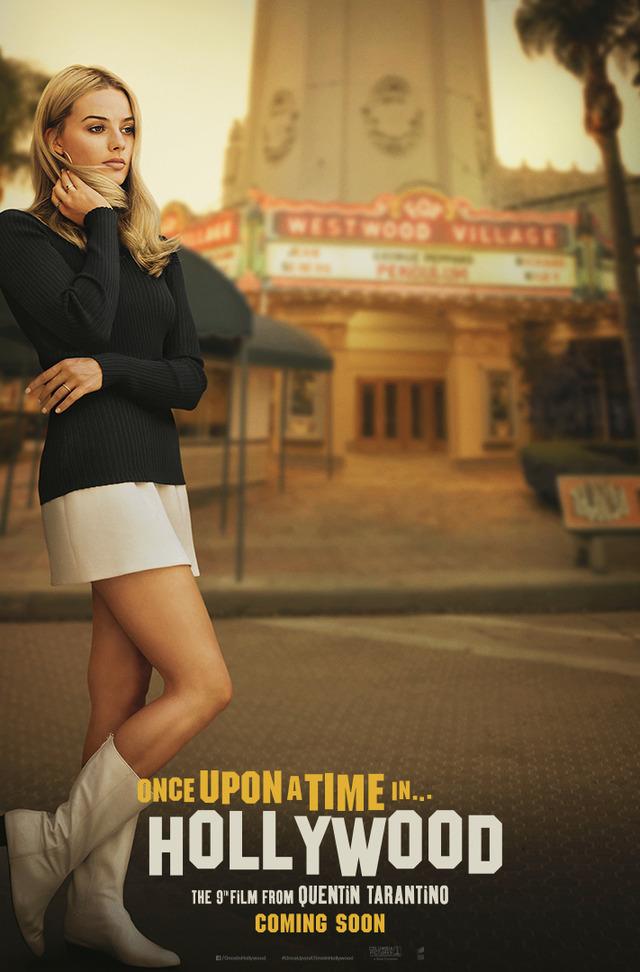 『ワンス・アポン・ア・タイム・イン・ハリウッド』海外版ティザーポスター