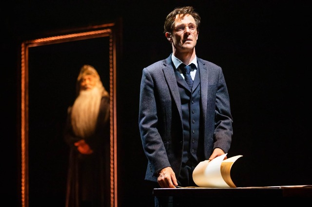 Gareth Reeves as Harry Potter in Harry Potter and the Cursed Child. Photo Matt Murphy.