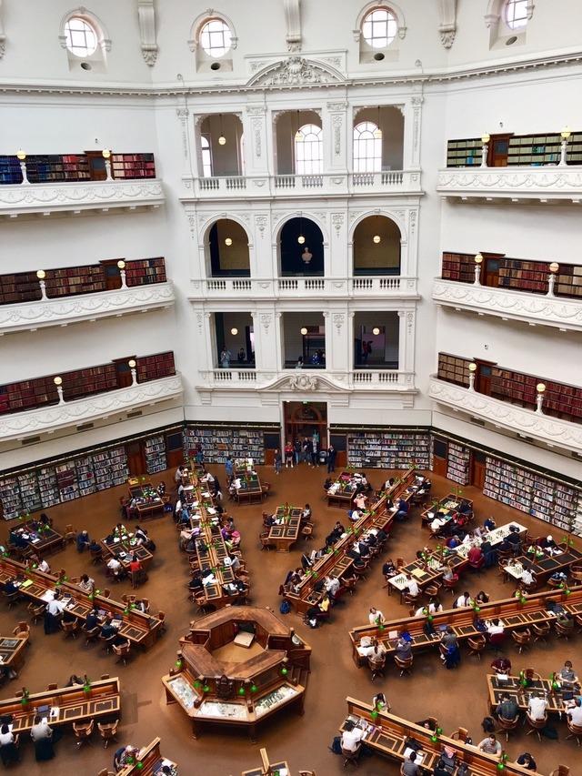 「ビクトリア州立図書館」