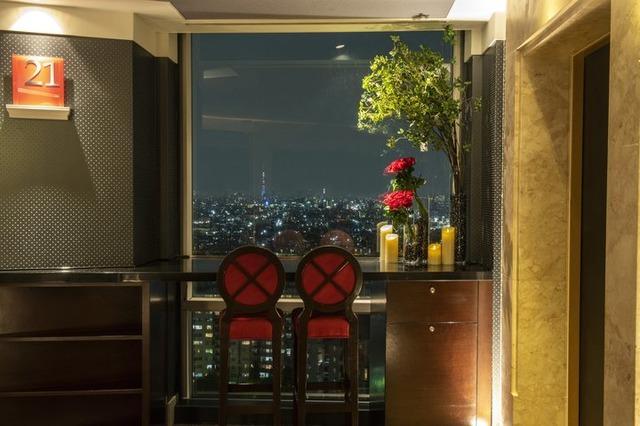 エレベーターホールの眺望☆