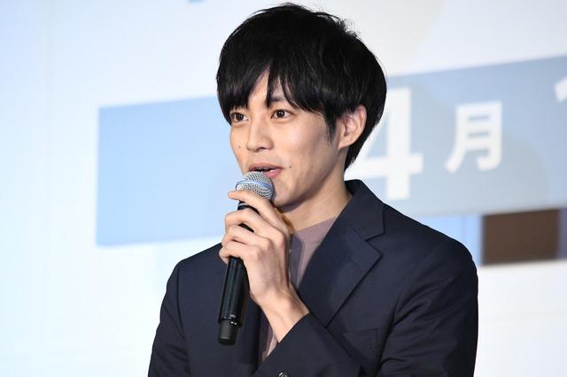 松坂桃李「パーフェクトワールド」制作発表会見