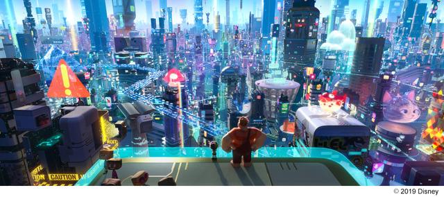 『シュガー・ラッシュ:オンライン』(C)2019 Disney