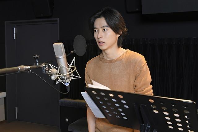 『二ノ国』山崎賢人/アフレコのようす (C) 2019 映画「二ノ国」製作委員会
