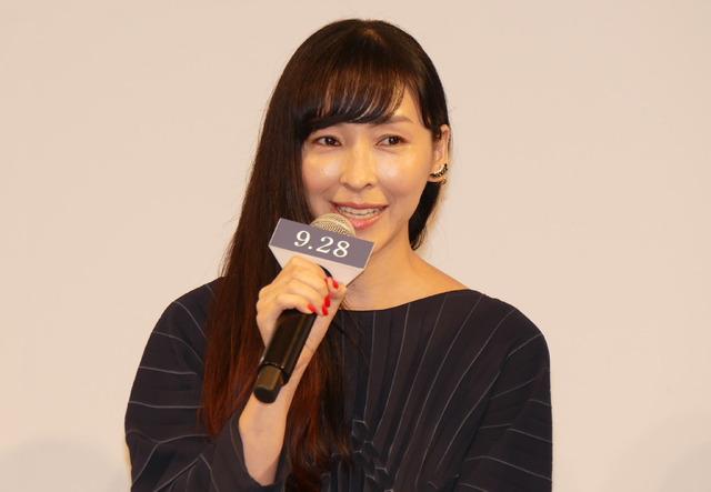 麻生久美子/『散り椿』完成報告記者会見
